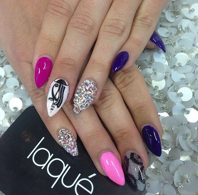 47 best nails images on pinterest nail art nail designs and stiletto nails nail art 2014 nails prinsesfo Choice Image