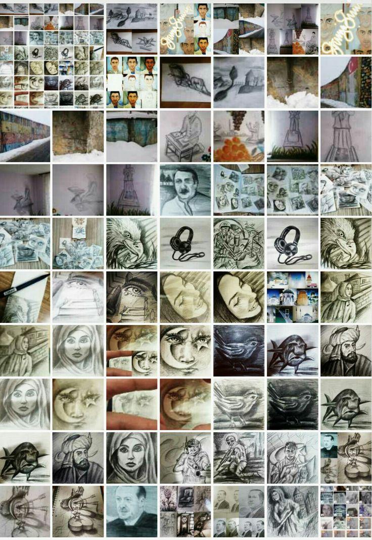 Resim 🎨 çalışmaları ✏ çoklu çekim