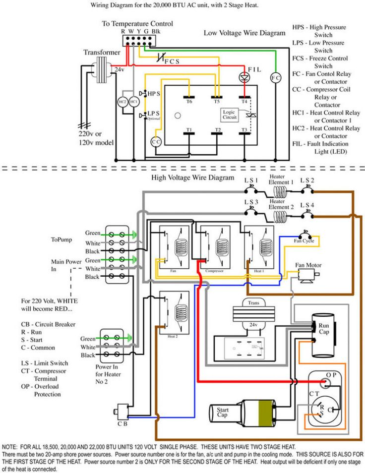 Split System Schematics - wiring diagram on the net on