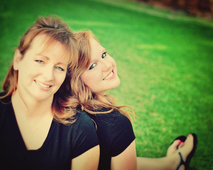 Mother Daughter Pose @Sarah LeAnn  @Connie Nichols