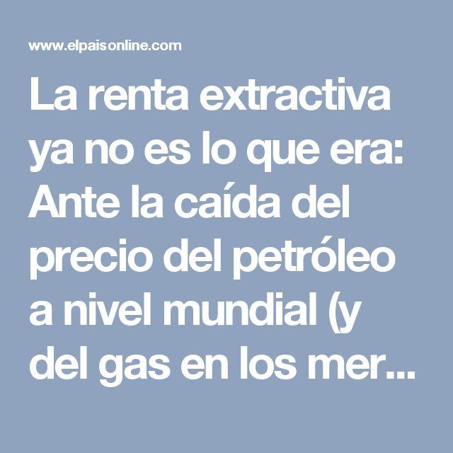 La renta extractiva ya no es lo que era: Ante la caída del precio del petróleo a nivel mundial (y del gas en los mercados de exportación de Bolivia), se ha acentuado la importancia de los impuestos pagados por la población como fuente de ingresos para el Estado, además del aumento de la deuda pública externa.