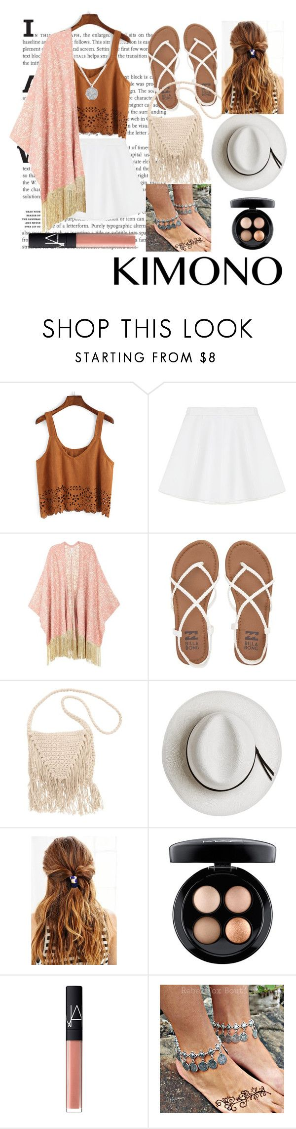 """""""Untitled #7"""" by aballaycandela ❤ liked on Polyvore featuring RED Valentino, Melissa McCarthy Seven7, Billabong, Calypso Private Label, Urban Outfitters, MAC Cosmetics, NARS Cosmetics, kimonos and plus size clothing"""