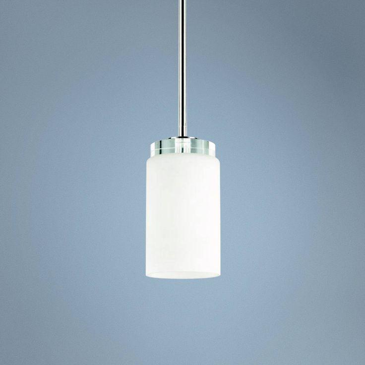 "Kichler Reynes 4"" Wide Chrome Mini Pendant Light"