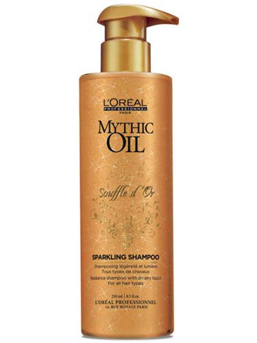 Offers beautiful shine and lightweight nourishment for all hair typesInfused with precious Argan & Safflower Oils and Golden Shimmering SparklesDirections for use:Apply to wet hair and lather. Rinse and repeat if necessary