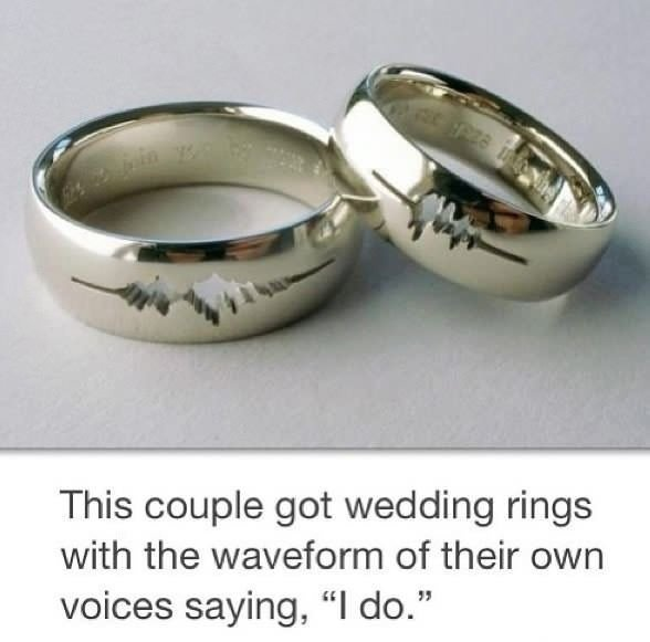 Wedding rings - Win Picture   Webfail - Fail Pictures and Fail Videos.  Very cool!
