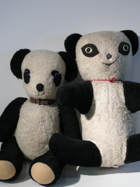 Little Panda Toys : Best images about antique and vintage panda bears on