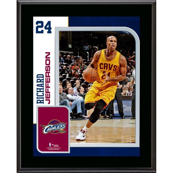 """Richard Jefferson Cleveland Cavaliers Fanatics Authentic 10.5"""" x 13"""" Sublimated Player Plaque - $29.99"""