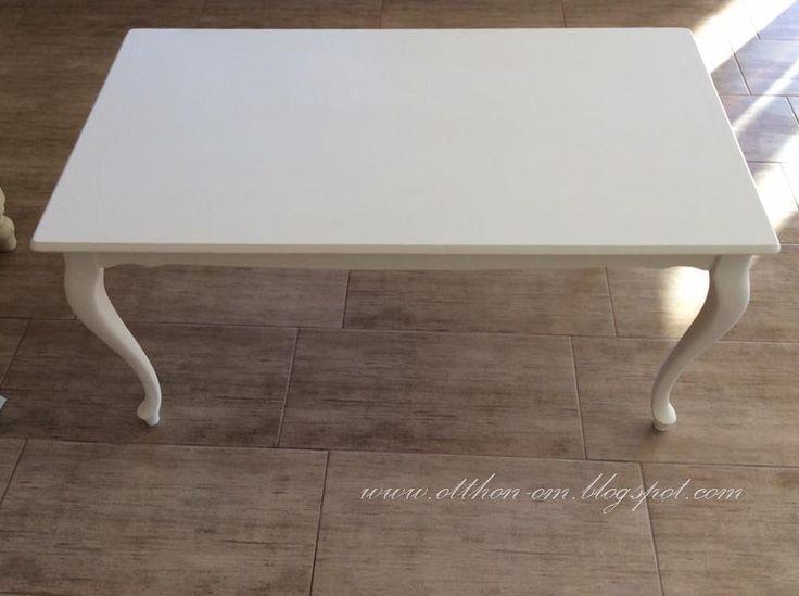 Nagyon szerettem volna a nappali nkba az Ikea asztal helyett egy hajlított lábú, romantikus fehér asztalt. Bárhol néztem, csak 70 ezer Ft f...