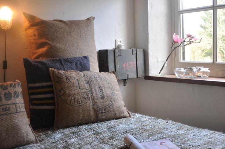 Dorpswoning De Boerderij; slaapkamer vakantiewoning 12 personen