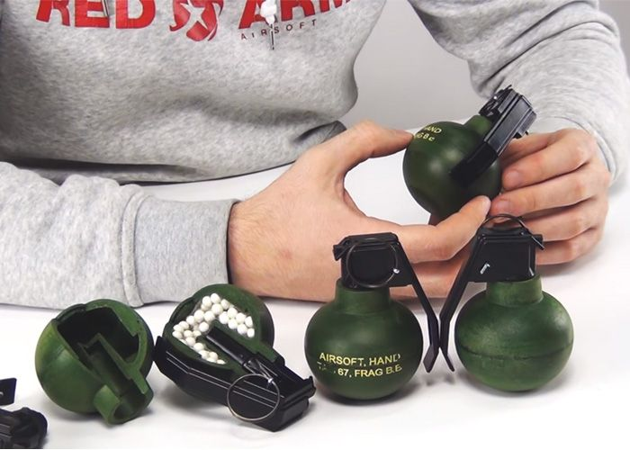 TAGinn TAG-67 Airsoft Grenade Review
