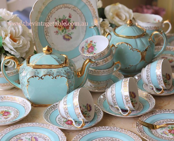 Beautiful Teapots and Teacups!