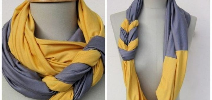 diy no knit scarf 24