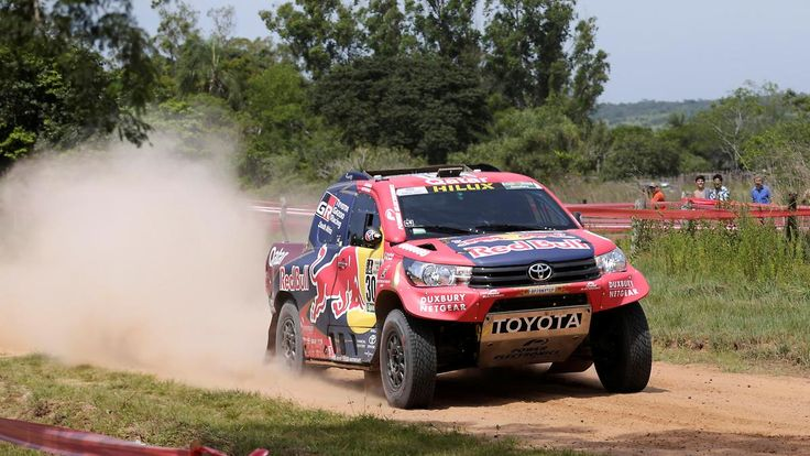 Start der 39. Rallye Dakar: Toyota-Fahrer Nasser Al-Attiyah geht bei Auftaktetappe in Führung