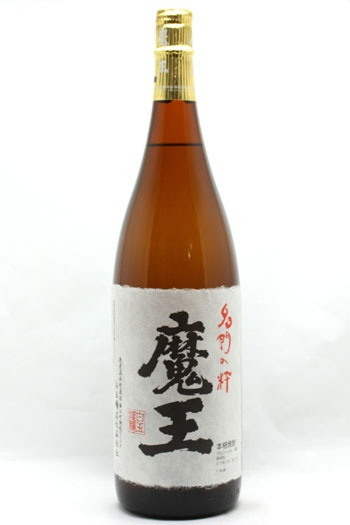 魔王 Maoh: 芋 Sweet Potato Shochu from Shiratama jyozo Co. in Kagoshima prefecture, Japan