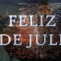 Feliz 4 de Julio, día por la Independencia