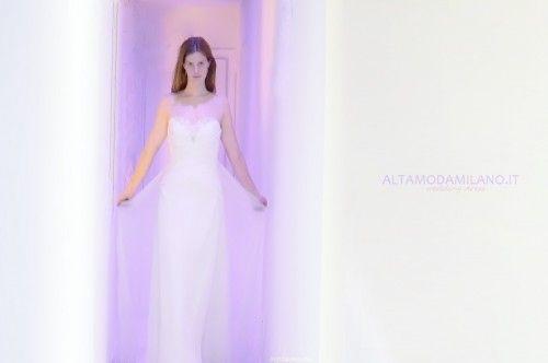 abiti sposa 2014 lo stile impero secondo ALTAMODAMILANO.IT corso venezia 29 milano TEL 0276013113