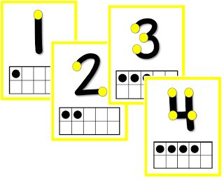 Touch points with Ten Frames. FREE