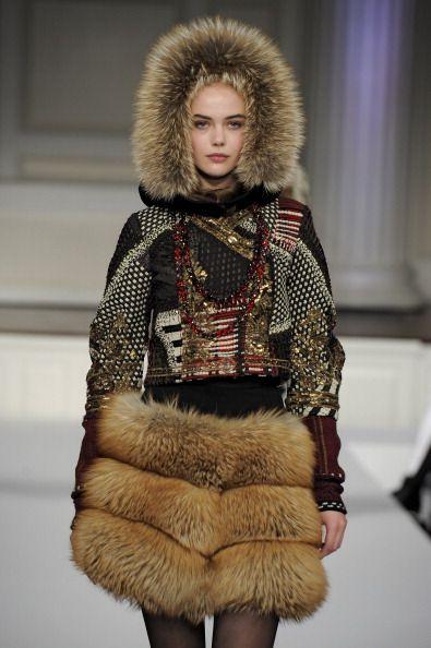 Oscar de la Renta fashion show during New York Fashion Week.