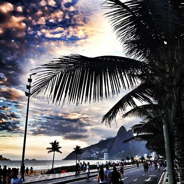 ipanema, rio, brasil #betterthanbraziltaxi #BrazilAirportTransfers http://brazilairporttransfers.com 1-800-617-6398