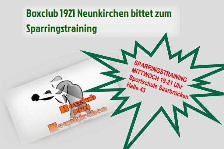 Boxclub 1921 Neunkirchen bittet zum Sparringstraining | BOXEN IST MAGIE http://redir.ec/Jx2j5