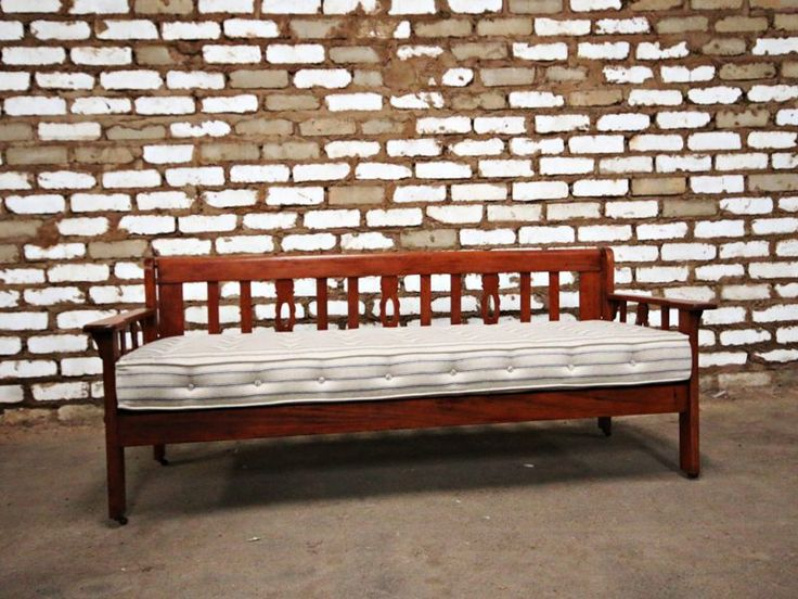 Wooden Daybed - Kings & Queens Antiques - Buy Antiques in Gauteng