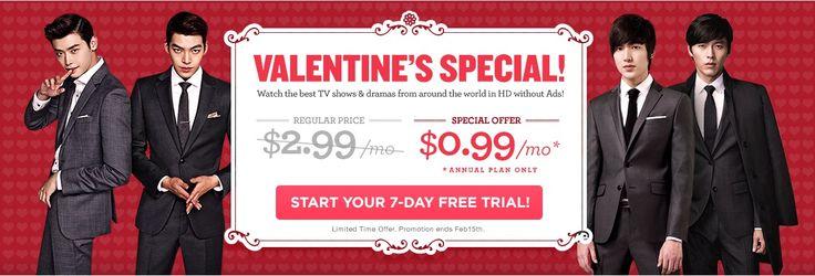 DramaFever UK Valentine's Special Discount