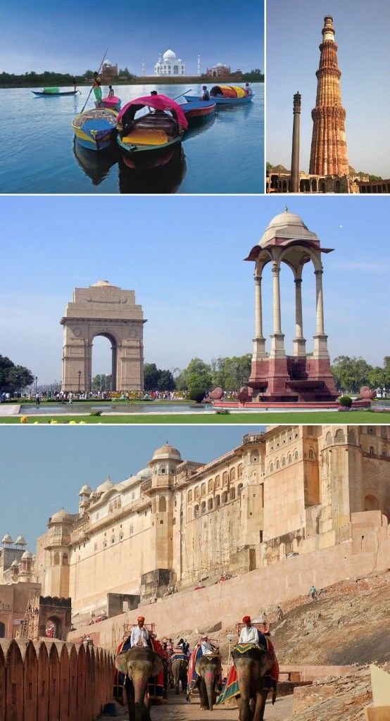 Taj Mahal India Tour 5n/6d - Tours From Delhi - Custom made Private Guided Tours in India - http://toursfromdelhi.com/taj-mahal-tour-package-5n6d-delhi-agra-jaipur/