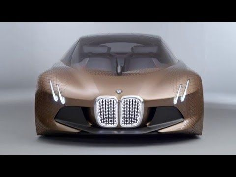 The BMW VISION NEXT 100 - review - YouTube