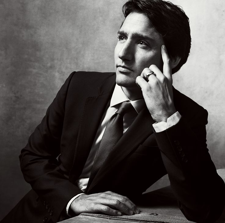 Justin Trudeau Is the New Young Face of Canadian Politics - Vogue December 2015