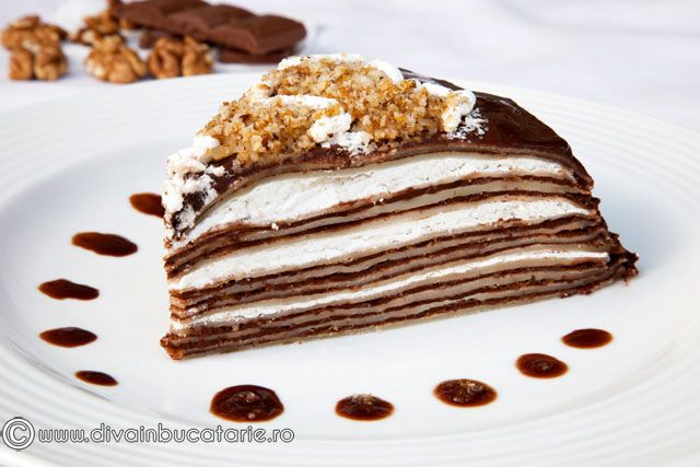 -Tort-de-Clatite- yes made this..did not like the clatite recipe. if i try this again use my own recipe for the clatite just use this for the filling. filling was ok...felt like it was too crunchy for this type of cake..maybe make again
