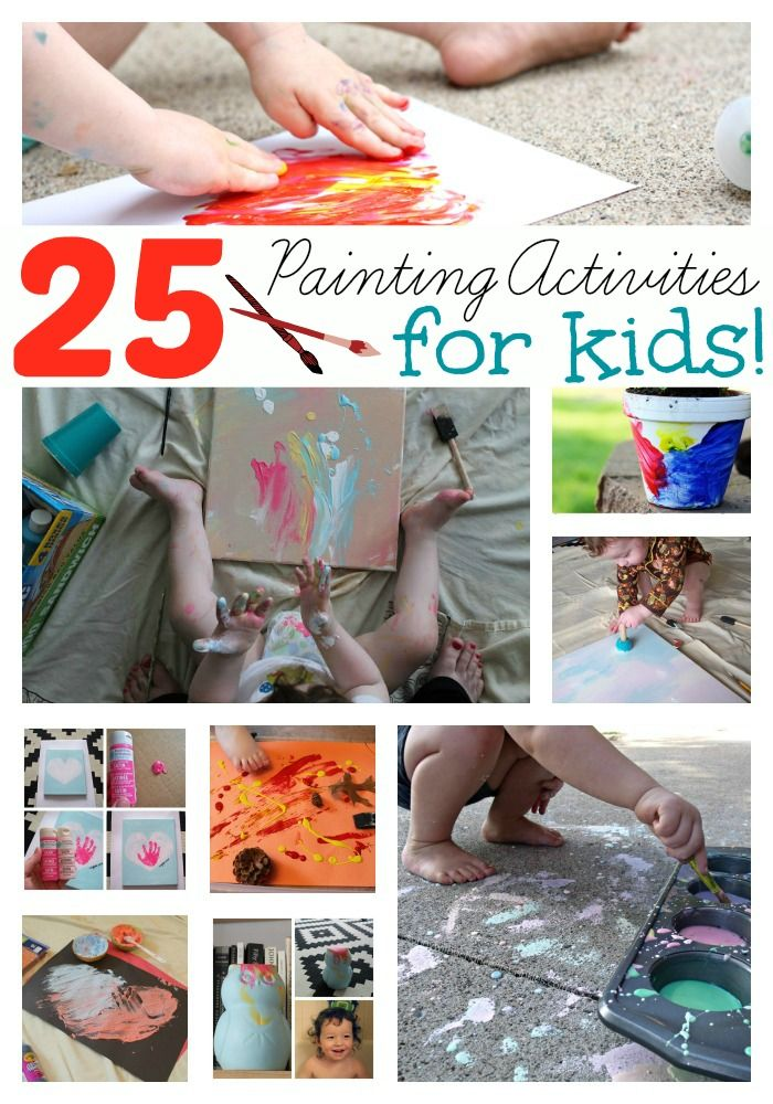My kids love painting but sometimes they get bored with just paint. I like to shake things up sometimes and find things that not everyone else is doing. Here are some cool projects that they can do as one or together. They are a little different and a lot of fun!