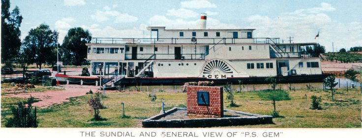 The Sundial from Poon Boon Station was relocated to the Pioneer Settlement and placed in the Rose Garden