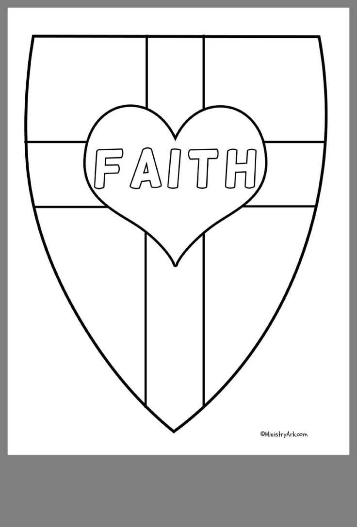 Pin By Tabitha Dickerson On Children S Church Faith Crafts Shield Of Faith
