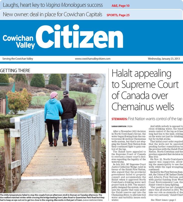 Citizen Front Page Jan. 23, 2013