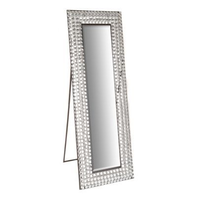 Crystal Bling Cheval Floor Mirror | Floor mirror, Apartment ideas and Furniture ideas