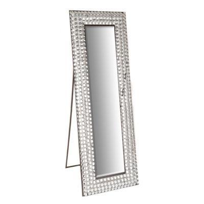 Crystal Bling Cheval Floor Mirror Floor Mirrors Floors
