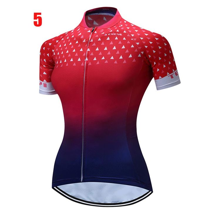 Wulibike Ladies Cycling Jersey Quicky Dry MTB Clothing XXS-4XL