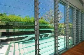 glass louvers with clear, opaque and patterned glass - Google Search