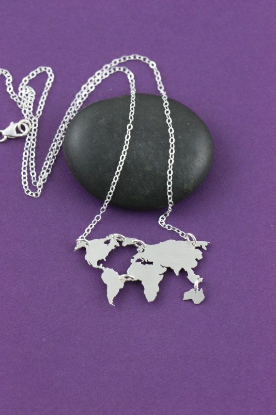 Best 25 map necklace ideas on pinterest world map necklace world map necklace earth day gift graduation globe necklace world travel foreign exchange student jewelry world outline wanderlust gift gumiabroncs Image collections