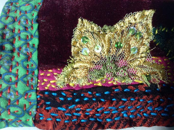 Handmade textile colors