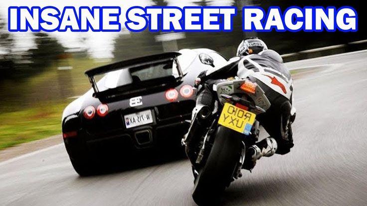{Top 7 Street Racing} SUPERCARS vs SUPER BIKES    Lamborghini,Bugatti.. ...