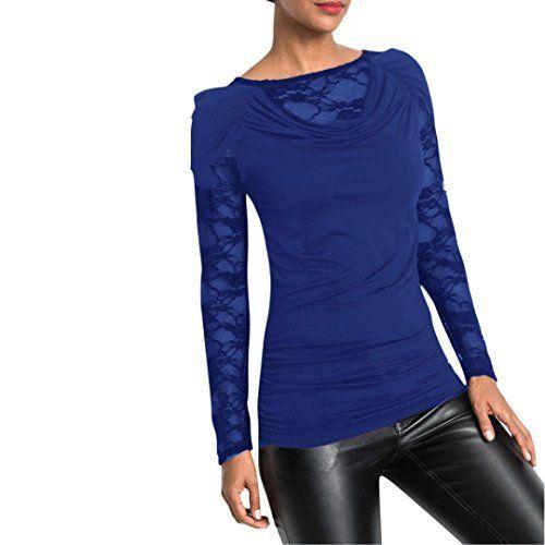 chemise femme chic soiree manteau femme grande taille Printemps pull femme hiver FRYS blouse femme dentelle vetement femme pas cher mode…