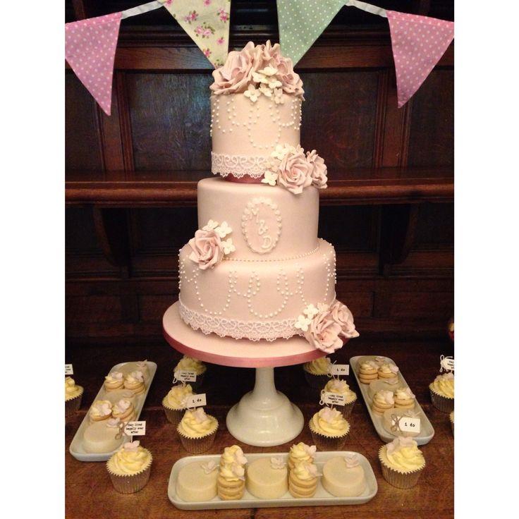 Cake and desert table xoxo