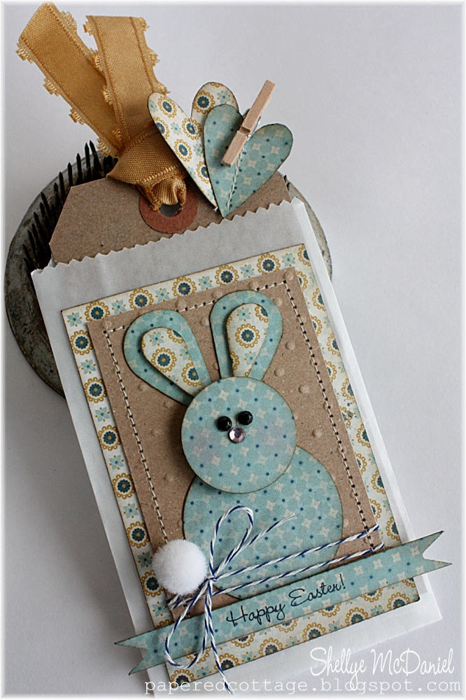 Adorable (Shellye McDaniel) easter bunny!Heart Punch, Handmade Tags, Easter Tags, Easter Cards, Easter Bunnies, Punch Art, Circles Punch, Shelly Mcdaniel, Paper Crafts