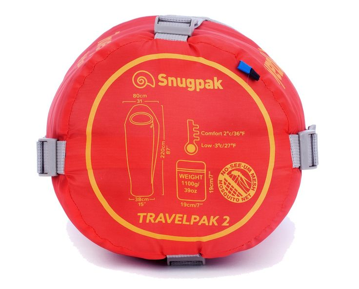 Snugpak Travelpak 2 Sleeping Bag – £36.89 Best for early spring/autumn
