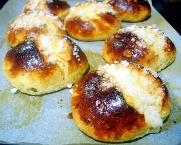 Receta de bollos suizos, medianoches o cristinas - El Aderezo - Blog de Recetas de Cocina