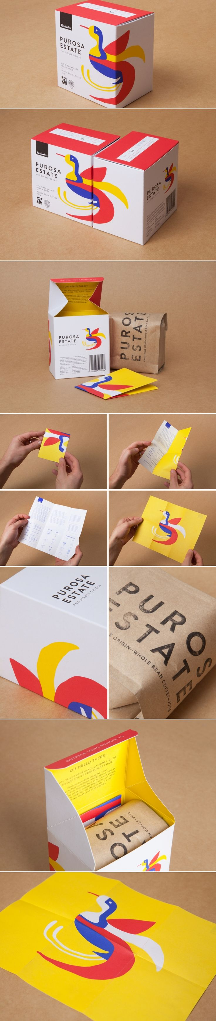 Kokako – Purosa Estate Single Origin — The Dieline | Packaging & Branding Design & Innovation News