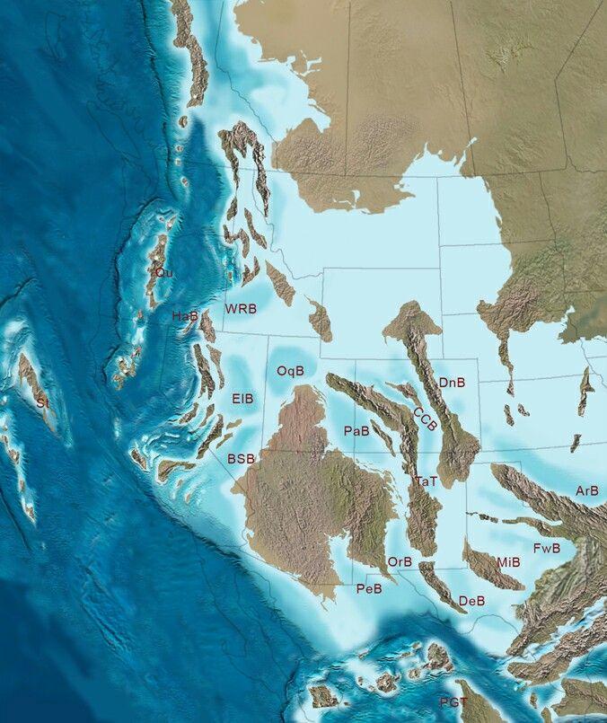 The southwestern coastal archipelagos of North America