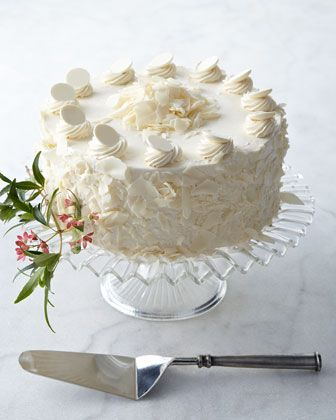 White Chocolate Torte by FROSTED ART BAKERY at Horchow.