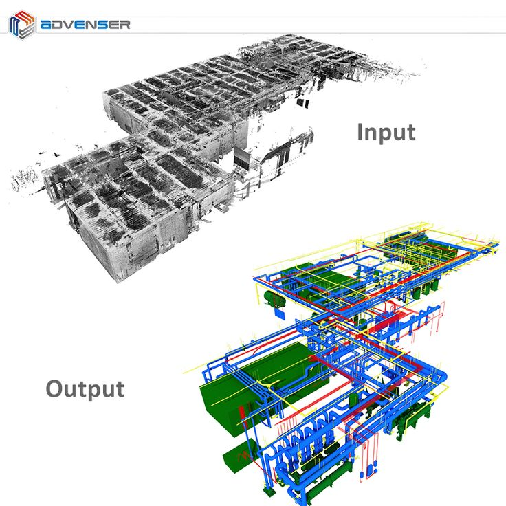 Point cloud modeling for MEP systems. #BIM #construction #engineering #scantobim #pointcloudmodeling #buildingservices